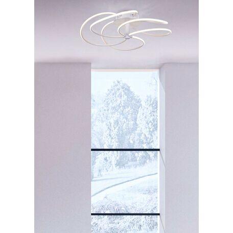 Потолочная люстра Maytoni Klee MOD447-CL-5-43-W, белый, металл