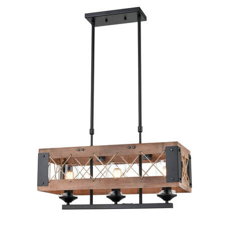 Подвесной светильник Vele Luce Cubo 10095 VL6052P03, 3xE27x60W
