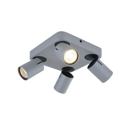 Потолочный светильник с регулировкой направления света Vele Luce Carrisi 10095 VL8067S04, 4xGU10x35W