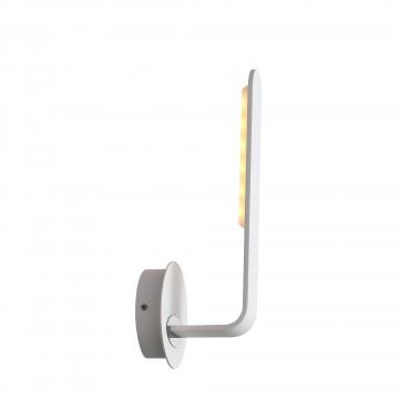 Настенный светодиодный светильник ST Luce Ganchi SL456.501.01, LED 6W 3000K 421lm, белый, металл