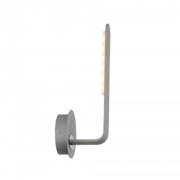 Настенный светодиодный светильник ST Luce Ganchi SL456.701.01, LED 6W 3000K 421lm, серый, металл