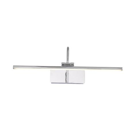 Настенный светодиодный светильник для подсветки картин ST Luce Centiаna SL444.011.01, LED 8W 4000K 454lm, хром, металл, металл с пластиком