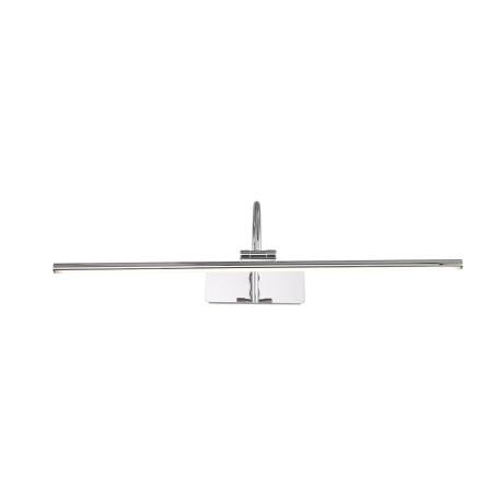 Настенный светодиодный светильник для подсветки картин ST Luce Centiаna SL444.101.01, LED 12W 4000K 729lm, хром, металл, металл с пластиком