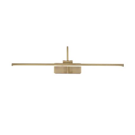 Настенный светодиодный светильник для подсветки картин ST Luce Centiаna SL444.301.01, LED 12W 4000K 729lm, бронза, металл, металл с пластиком