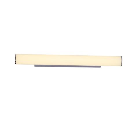 Настенный светодиодный светильник ST Luce Bacheta SL439.111.01, LED 18W 4000K 1812lm, хром, белый, металл, стекло