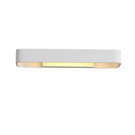 Настенный светодиодный светильник ST Luce Listelli SL454.501.01, LED 9W 3000K 480lm, белый, металл