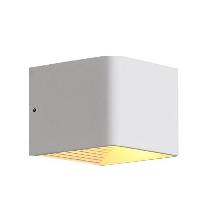 Настенный светодиодный светильник ST Luce Grappa 2 SL455.051.01, LED 6W 3000K 213lm, белый, металл