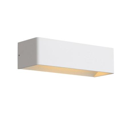 Настенный светодиодный светильник ST Luce Grappa 2 SL455.501.01, LED 9W 3000K 427lm, белый, металл