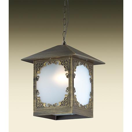 Подвесной светильник Odeon Light Visma 2747/1, IP44, 1xE27x60W, коричневый, белый, металл, пластик - миниатюра 1