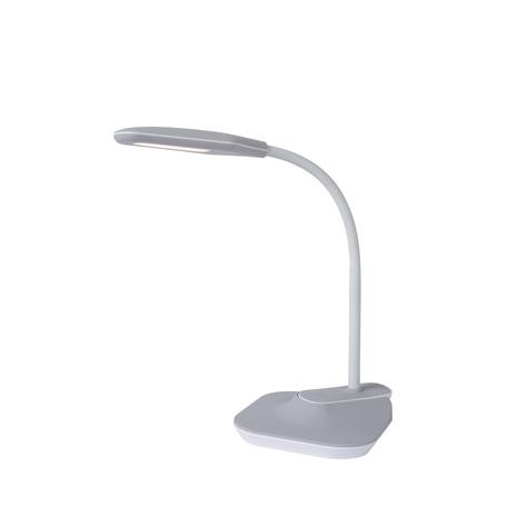Настольная светодиодная лампа Lucide Aiden-LED 18672/05/36, LED 5W 3000K 400lm CRI80, серый, пластик