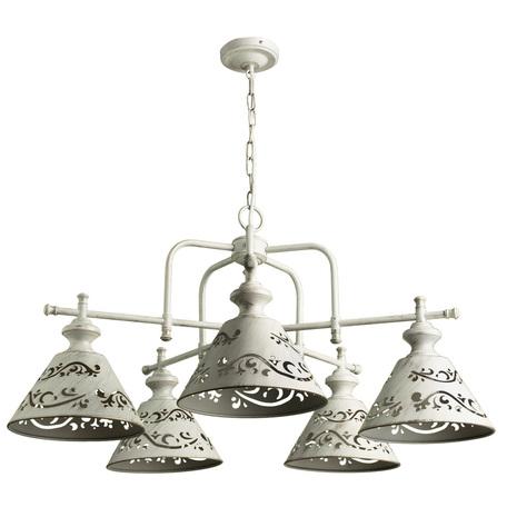 Arte Lamp Kensington A1511LM-5WG, 5xE14x40W, белый