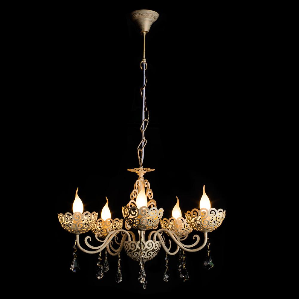 Arte Lamp Fleece A4554LM-5WG, 5xE14x40W - фото 2