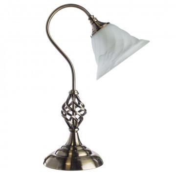 Arte Lamp Cameroon A4581LT-1AB, 1xE14x60W, белый