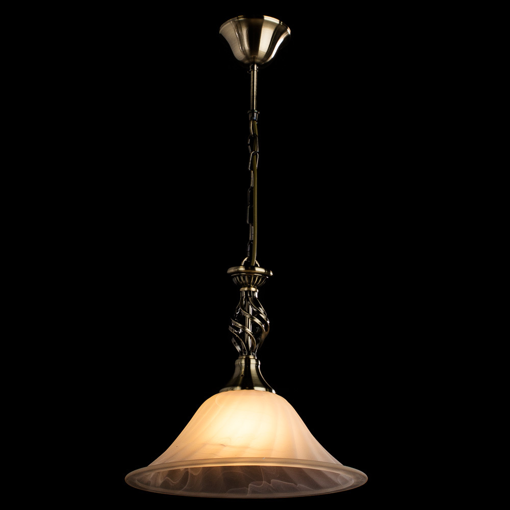 Arte Lamp Cameroon A4581SP-1AB, 1xE27x100W, белый - фото 2