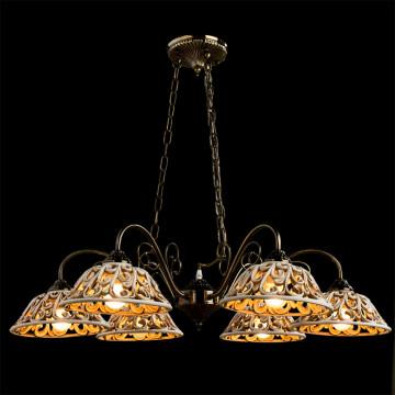 Arte Lamp Carved A5387LM-6AB, 6xE27x60W, бежевый - миниатюра 2