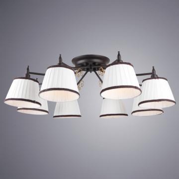 Arte Lamp Capri A6344PL-8BR, 8xE14x40W, белый