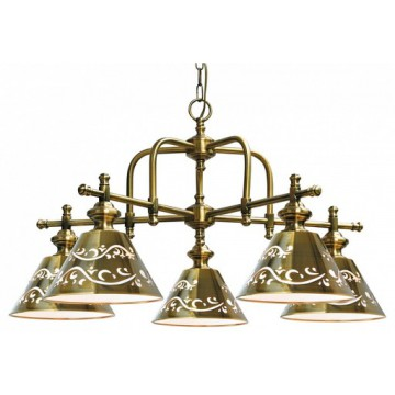 Arte Lamp Kensington A1511LM-5PB, 5xE14x40W, металл
