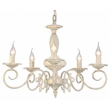 Arte Lamp Tilly A5333LM-5WG, 5xE14x40W, белый с золотой патиной, металл, керамика