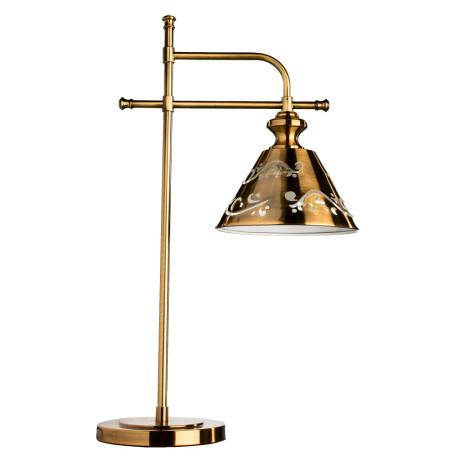 Настольная лампа Arte Lamp Kensington A1511LT-1PB, 1xE14x40W, медь, металл