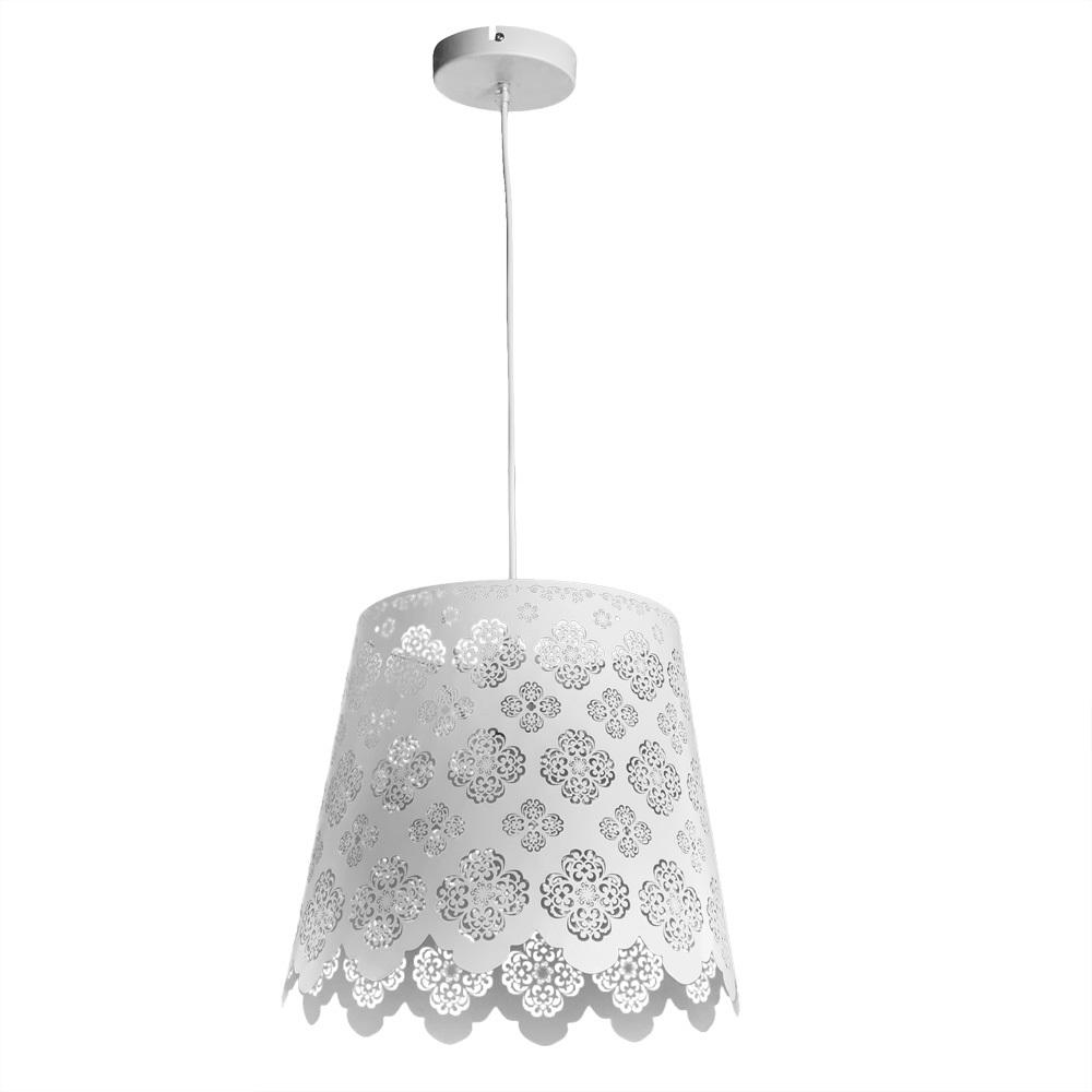 Подвесной светильник Arte Lamp Maestro A2030SP-1WA, 1xE27x75W, белый, металл - фото 1