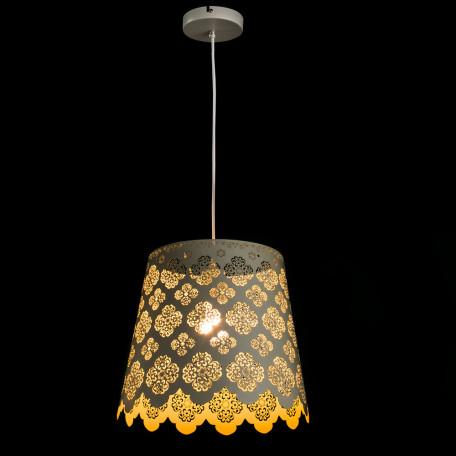 Подвесной светильник Arte Lamp Maestro A2030SP-1WA, 1xE27x75W, белый, металл - миниатюра 2