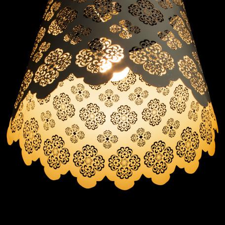 Подвесной светильник Arte Lamp Maestro A2030SP-1WA, 1xE27x75W, белый, металл - миниатюра 4