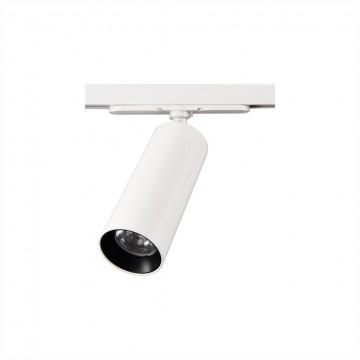 Светодиодный светильник для шинной системы Citilux Тубус CL01T120, 3000K (теплый), белый, прозрачный, металл