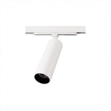 Светодиодный светильник для шинной системы Citilux Тубус CL01T070, LED 7W, 3000K (теплый), белый, прозрачный, металл
