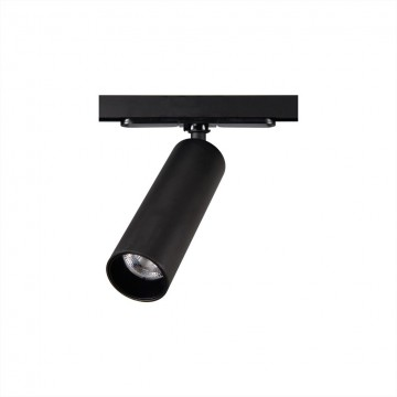 Светодиодный светильник для шинной системы Citilux Тубус CL01T071, LED 7W, 3000K (теплый), черный, прозрачный, металл