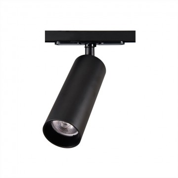 Светодиодный светильник для шинной системы Citilux Тубус CL01T181, LED 18W, 3000K (теплый), черный, прозрачный, металл