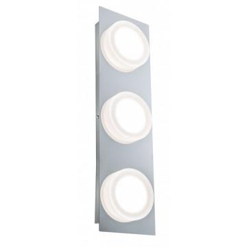 Настенный светодиодный светильник Paulmann Doradus 70876, IP23, LED 14,1W, хром, металл, пластик