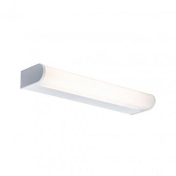 Настенный светодиодный светильник Paulmann Arneb 70878, IP44, LED 9W, белый, металл, пластик