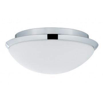Потолочный светильник Paulmann Biabo 70804, IP44, 1xE27x18W, хром, белый, металл, пластик