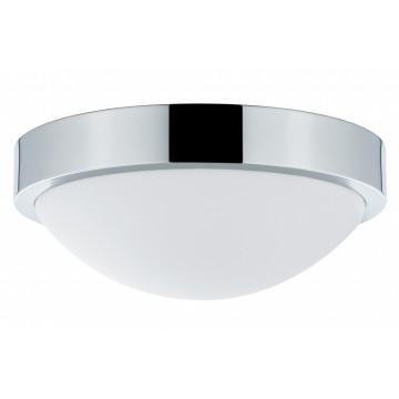 Потолочный светильник Paulmann Falima 70806, IP44, 1xE27x18W, хром, белый, металл, пластик