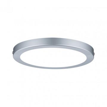 Потолочный светодиодный светильник Paulmann Atria 70864, LED 18,5W, матовый хром, пластик