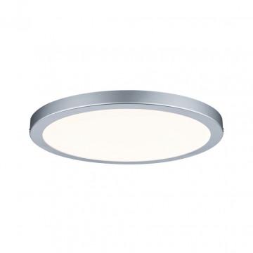 Потолочный светодиодный светильник Paulmann Atria 70865, LED 22W, матовый хром, пластик