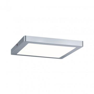 Потолочный светодиодный светильник Paulmann Atria 70866, LED 20W, матовый хром, пластик