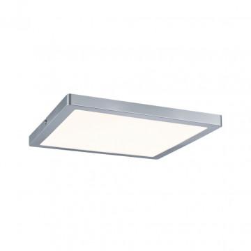 Потолочный светодиодный светильник Paulmann Atria 70867, LED 24W, матовый хром, пластик