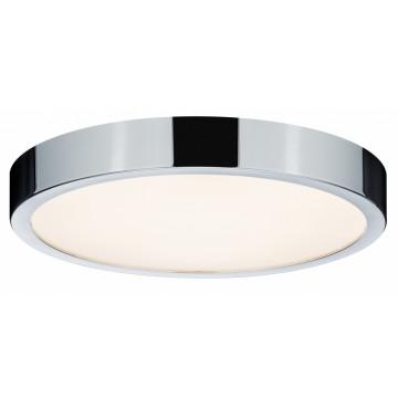 Потолочный светодиодный светильник Paulmann Aviar 70882, IP44, LED 20W, хром, пластик
