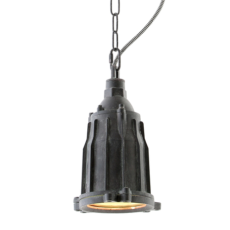 Подвесной светильник Lussole Loft Kingston LSP-9949, IP21, 1xE27x60W, серый, металл