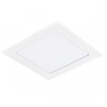Встраиваемая светодиодная панель Lightstar Zocco 224124, LED 12W 4000K 720lm, белый, металл с пластиком