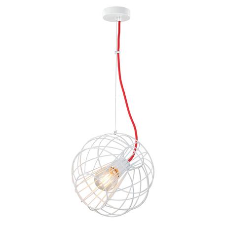 Подвесной светильник Toplight Serena TL1200H-01WH, 1xE27x60W, белый, металл
