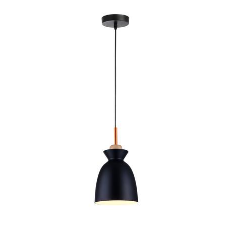 Подвесной светильник Toplight Marylou TL1202H-01BK, 1xE27x40W, черный, металл