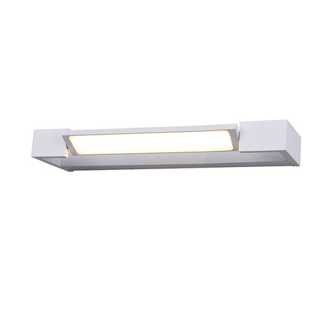 Настенный светодиодный светильник Azzardo Dali AZ2788, IP44, LED 9W 3000K 1080lm, белый, металл