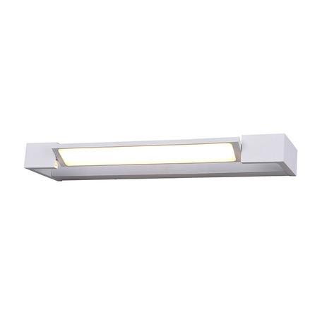 Настенный светодиодный светильник Azzardo Dali AZ2790, IP44, LED 12W 3000K 1440lm, белый, металл