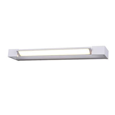 Настенный светодиодный светильник Azzardo Dali AZ2794, IP44, LED 24W 3000K 2880lm, белый, металл