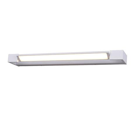 Настенный светодиодный светильник Azzardo Dali AZ2797, IP44, LED 36W 4000K 4320lm, белый, металл