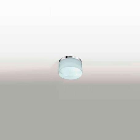 Потолочный светодиодный светильник Azzardo Linz AZ2774, IP44, LED 5W 3000K 420lm, хром, белый, металл, пластик