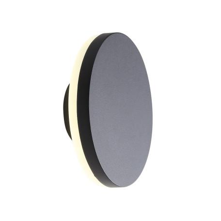 Настенный светодиодный светильник ST Luce Contario SL087.401.01, IP54, LED 12W 4000K 936lm, черный, металл