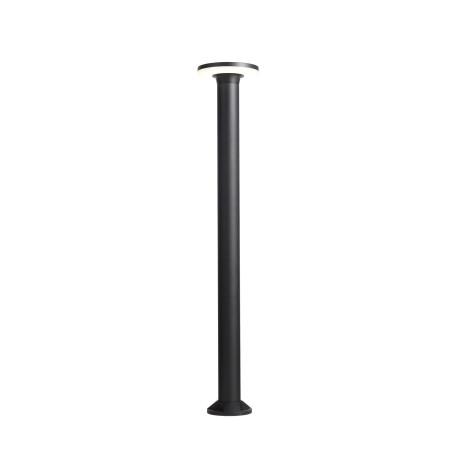 Уличный светодиодный фонарь ST Luce Contario SL087.415.01, IP54, LED 18W 4000K 1404lm, черный, металл